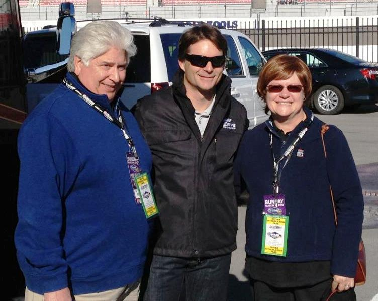 AARP Nevada State President Mary Liveratti, John Liveratti and Jeff Gordon