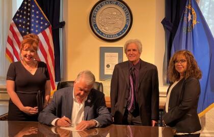 Governor Sisolak Signs Legislation Supporting Nevada Caregivers