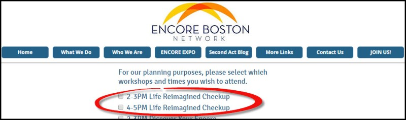 Encore registration page_LR Checkups