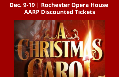 Celebrate the Season with AARP Discounted Tickets for A Christmas Carol