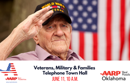 Veterans, Military & Families Telephone Town Hall