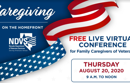 Join AARP Nevada & NDVS for Free Virtual Veterans Caregiving Conference: Caregiving on…