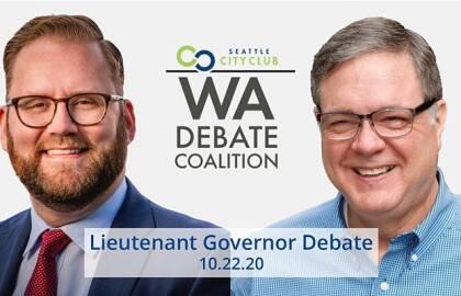 Tune In: AARP Washington Sponsors Oct. 22 Lieutenant Governor Debate