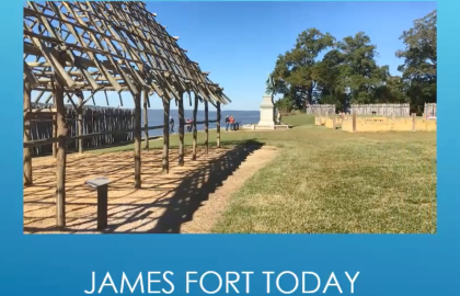 The Jamestown Settlement – First Africans in Virginia (1619-1705)
