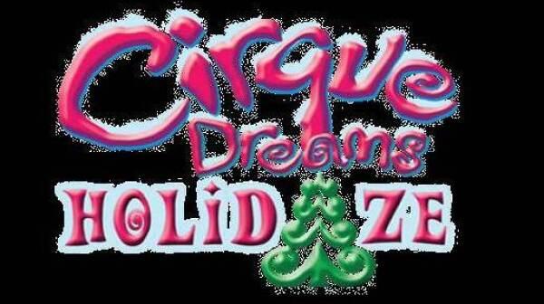 Cirque Dreams Holidaze logo 3