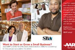 SBA AARP Encore Entrepreneur Event resized