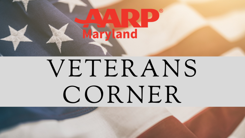 2021 AARP Md Veterans Corner-New Logo