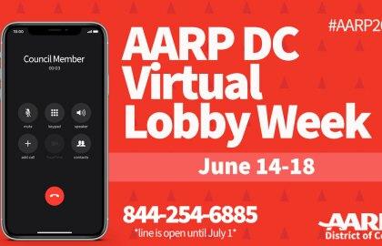 June 14-18 is AARP Lobby Week