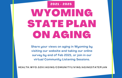 Ideas, Opinions and Input on Older Resident Needs Sought
