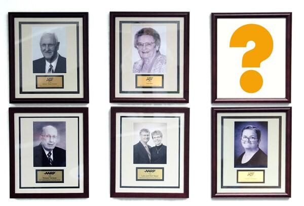 Photo of past winners.
