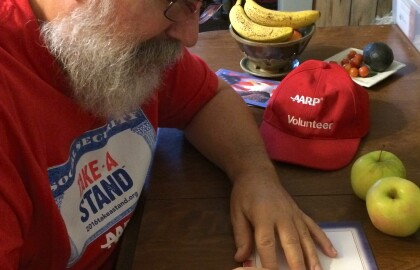 Veterans getting some love from AARP volunteers