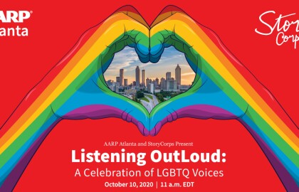AARP Atlanta Presents 2020 Gray Pride: Daylong Events Spotlight LGBTQ Community on Oct. 10