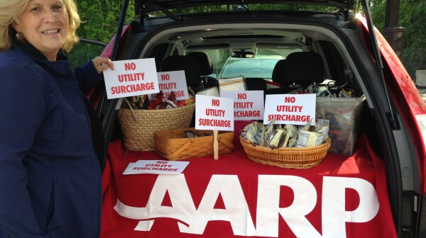 AARP Maryland lobbies regularly for consumers in the utility rate hike fight.