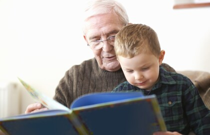 Volunteer with Generations Inc. to help a child learn to read