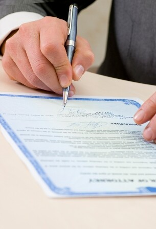 Notary certified a power of attorney
