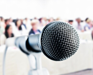 Microphone and audience Kathy_Marma_ 499,999