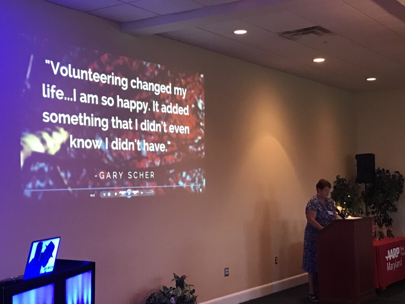 MD volunteering quote