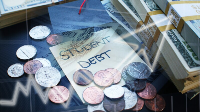 Student Debt Showing Rising Costs & Accumulated Debt