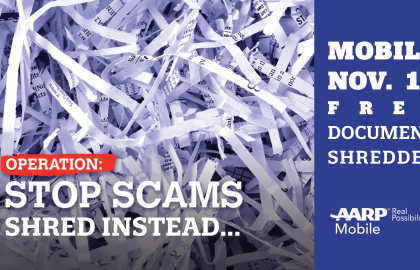 Media Alert: AARP Mobile Holds Free Shredding Event, Takes Aim at Identity Theft