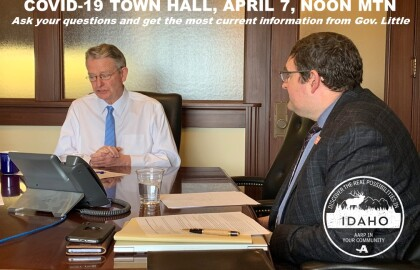 COVID-19 Update with Governor Little on 4/7