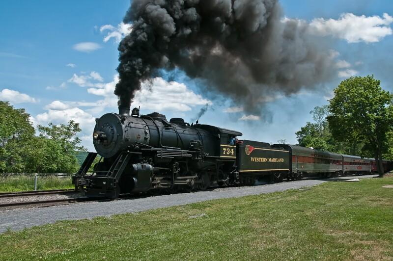 Western Maryland Scenic Trainride