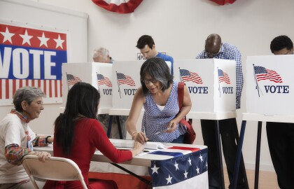 AARP Collaborates to Address Poll Workers 