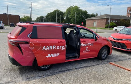 AARP, Toyota Collaborate on Vehicles for Vaccine Outreach Initiative in Evansville, Indiana
