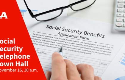 Join AARP Oklahoma for a Social Security telephone town hall