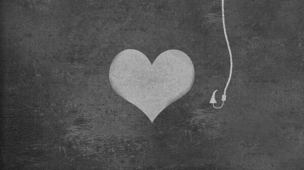 Heart Shape Fishing