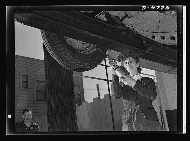 Woman Auto Worker, 1943