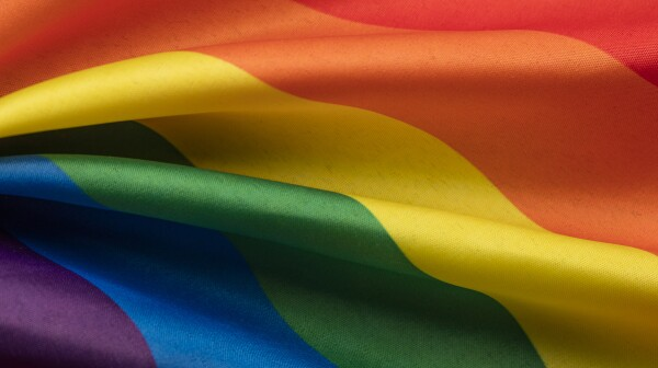 LGBT gay pride rainbow flag