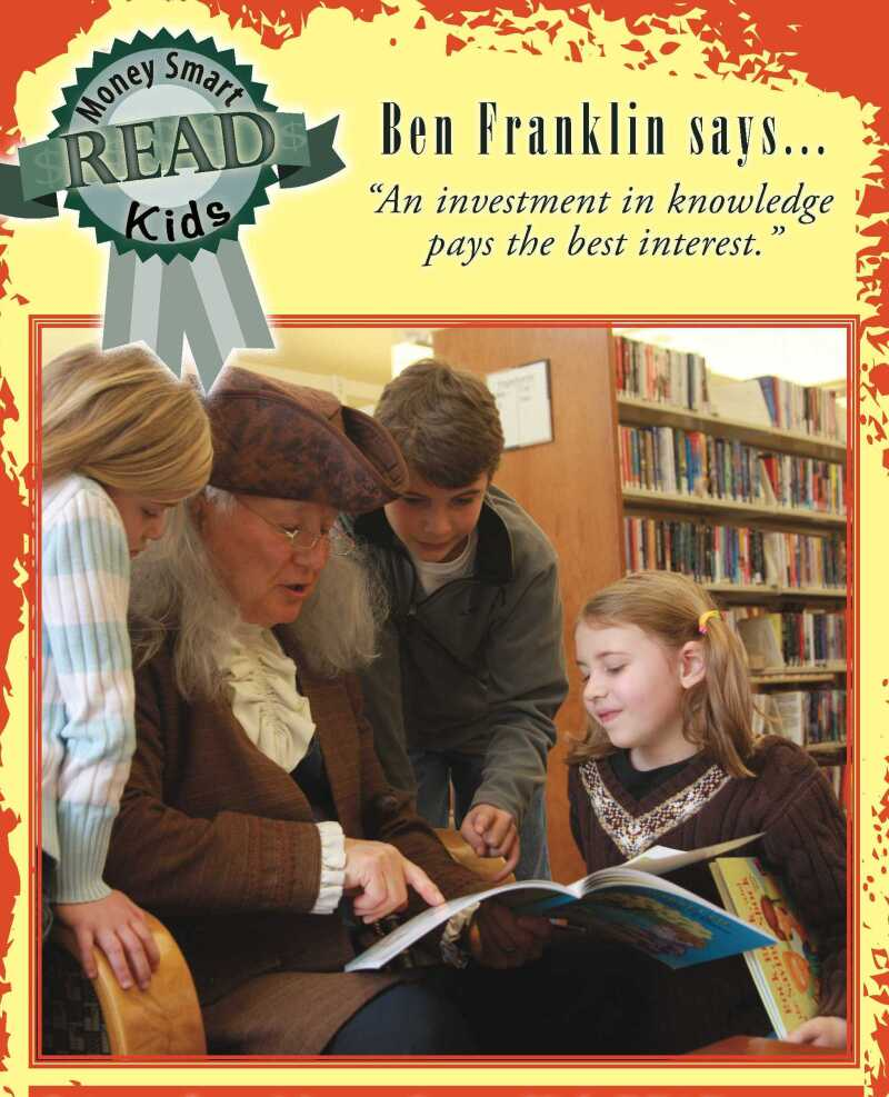 Ben Franklin Reads