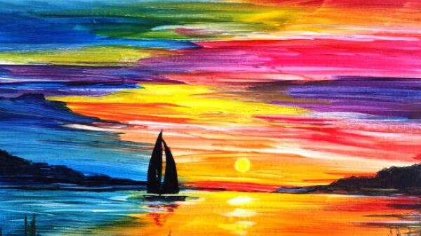 LR painting
