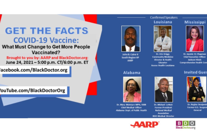 BlackDoctor.org, AARP LA to host live virtual event on COVID-19 vaccine