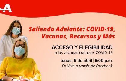 EVENTO VIRTUAL: Acceso a las Vacunas Contra el COVID-19