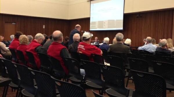 David Wilson testifying