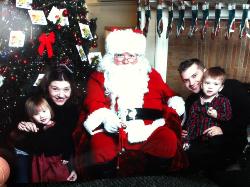 Olender family Christmas 2012
