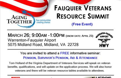 Fauquier Veterans Resource Summit