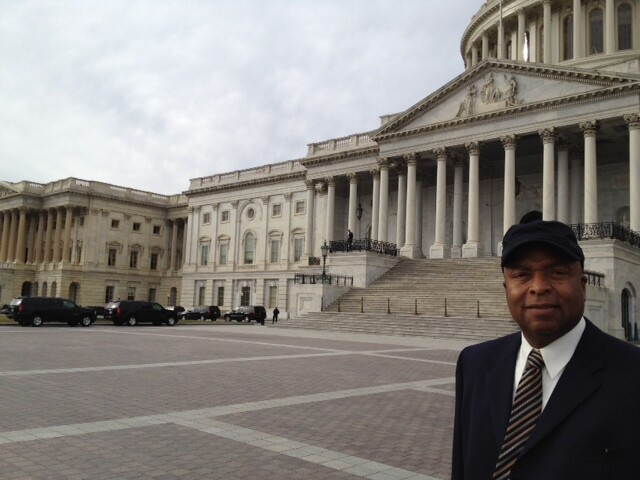 Norman Michael at the Capitol