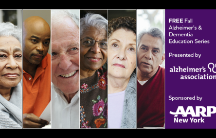 Join AARP NY and Alzheimer's Association for Free Virtual Educational Workshops