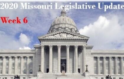 Legislative Session Update - Week 6