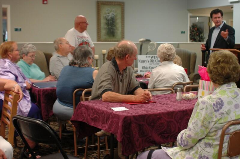 Community meeting in Ohio County