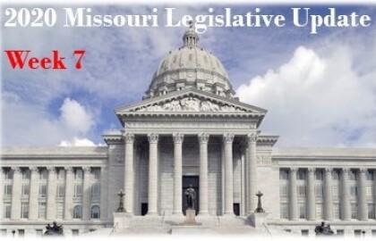 Legislative Session Update - Week 7