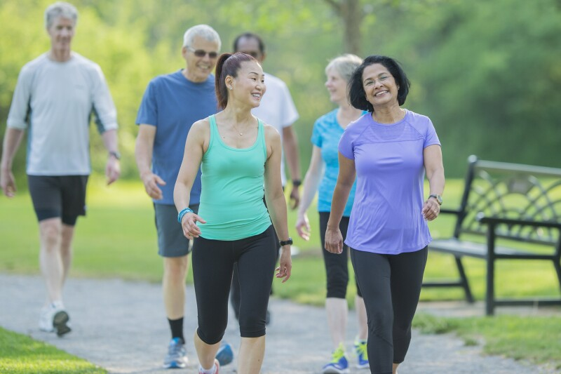 Elderly Fitness Group