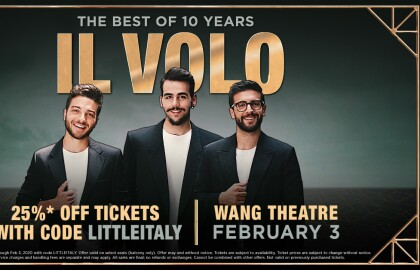 Engage with AARP Massachusetts at Il Volo: The Best of 10 Years