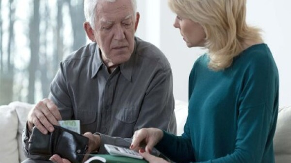 Elder financial abuse photo