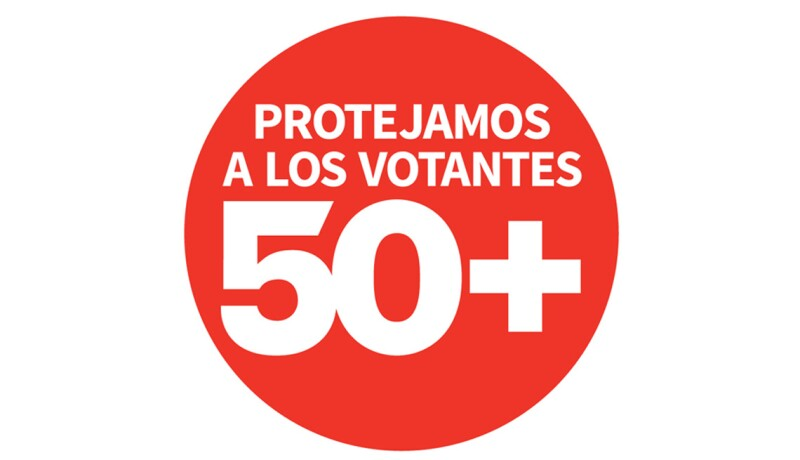 Logo de Protejamos a los Votantes Mayores de 50