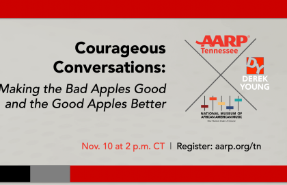 AARP Tennessee to Host Courageous Conversation Series