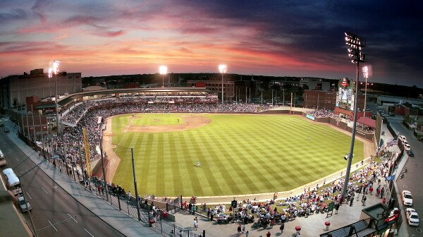 Fifth Third Field - Dayton Ohio (photo courtesy of Dayton Dragons)