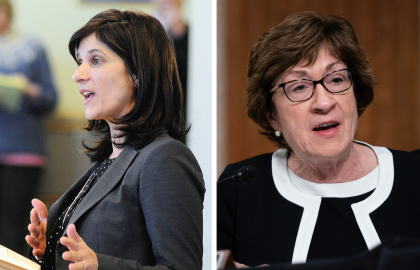 Sara Gideon and Susan Collins Answer 5 Questions Vital to Voters Age 50+